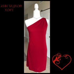 Ann Taylor little red dress Sz 8. 🌹